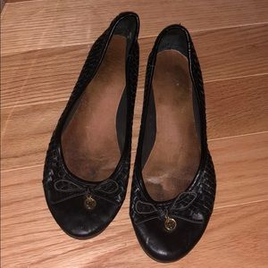 Shoes - Black Sperry flats